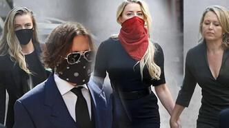 Johnny Depp ve Amber Heard'ün davası başladı