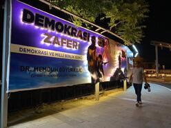 Kayseri'de bilboardlarda 15 Temmuz mesajı