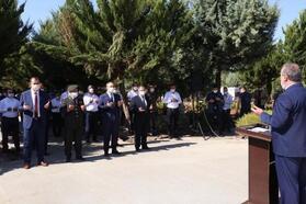 Kilis'te 15 Temmuz için şehitlikte tören düzenlendi