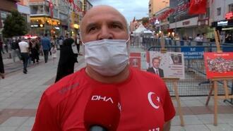 15 Temmuz gazisi Hünal: Kalbimdeki yara Ayasofya'nın ibadete açılmasıyla sarıldı
