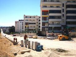 Osmangazi Belediyesi kaldırımları güzelleştiriyor