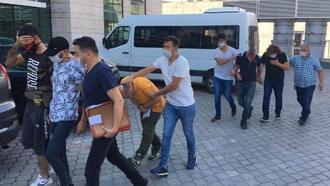 Samsun'da uyuşturucu operasyonu; 5 gözaltı