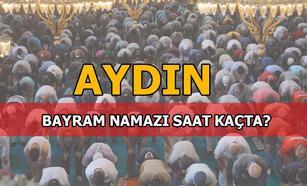 Bayram namazı Aydın'da saat kaçta kılınacak? 2020 Diyanet Aydın bayram namazı saati...