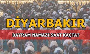 2020 Diyarbakır Bayram namazı saat kaçta kılınacak? Bayram namazı Diyarbakır'da saat kaçta?