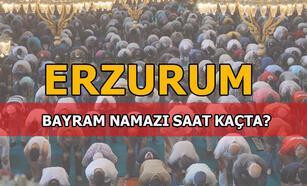 Bayram namazı Erzurum'da saat kaçta kılınacak? 2020 Diyanet Erzurum Bayram namazı saati...