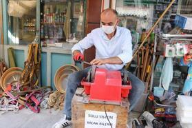 Nevşehir'de bayram öncesi bıçak bileme yoğunluğu