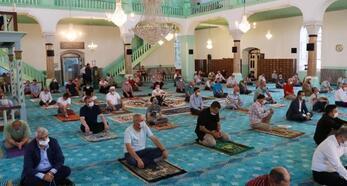 Burdur protokolü Mısırlılar Evi'nde bayramlaştı