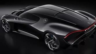 İşte dünyanın en pahalı otomobili Bugatti La Voiture Noire