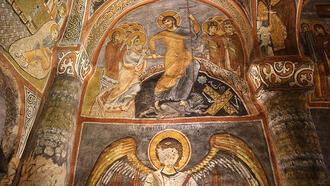 Karanlık Kilise ziyaretçilerini tarihin derinliklerine götürüyor