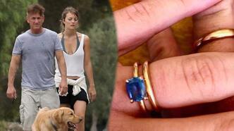 Sean Penn, 31 yaş küçük sevgilisi Leila George ile evlendi