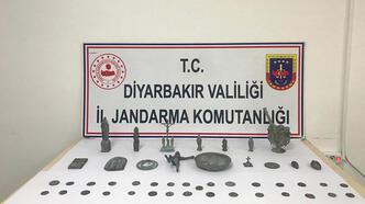 Diyarbakır'da 48 tarihi eser ele geçirildi