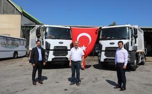 Mudanya Belediyesi, temizlik araç filosunu güçlendirdi