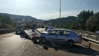 Burdur'da kaza: 1 yaralı