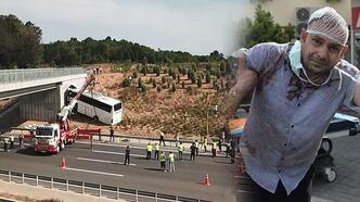 Son dakika... İstanbul'da facia! Kazada yolcular dışarı fırladı...