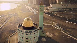 Dünyanın en kuzeyindeki cami Nurd Kamal