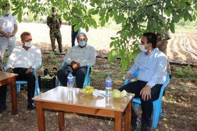 Kaymakam Dundar, tarım üreticileriyle bir araya geldi