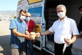 Tokat'ta 5 bin kişilik aşure ikram edildi