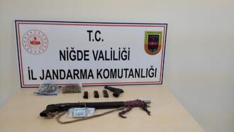 Tepeköy kırsalında 2 şüpheli yakalandı