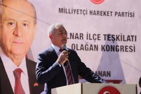 MHP Gülnar İlçe Başkanı Kadim, güven tazeledi