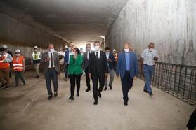 Konya yolu inşaat projesinde sona yaklaşıldı