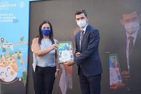 Erbaa Belediyesi, 'Çevre Dostu Kent' projesiyle ödül aldı