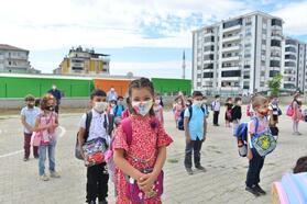 Elazığ'da eğitim-öğretim yılı koronavirüs tedbirleriyle başladı