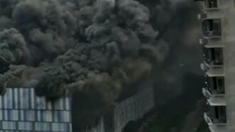 Son dakika...Çin'de Huawei laboratuvarında dev yangın!