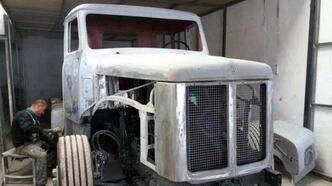 Eski kamyonu yenilediler