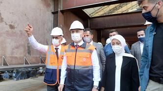 Bakan Karaismailoğlu Malatya'da incelemelerde bulundu
