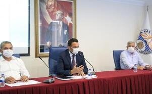 Kaş Belediye Meclisi Ekim ayı toplantısı