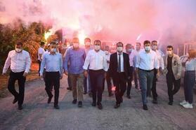 Başkan Seçer, Tarsus'ta sorun dinledi