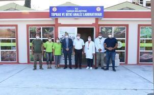 Tarsus'a Toprak ve Bitki Analiz Laboratuarı