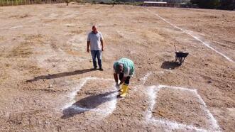 Tarsus Belediyesi 'Can Dostlar Ebedi Mezarlığı' için ilk kazmayı vurdu