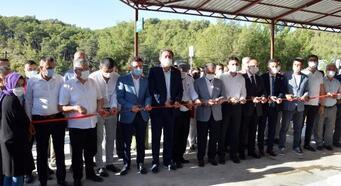Kumluca zeytinyağı fabrikası üretime başladı