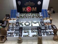 Samsun polisinden kaçak tütün operasyonu: 2 gözaltı