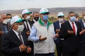 Başkan Büyükkılıç, çiftçilerle buluştu
