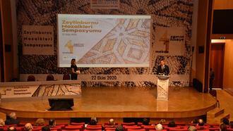 Zeytinburnu mozaikleri gün yüzüne çıkıyor
