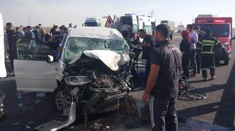 Konya'da trafik kazası! Ölü ve yaralılar var
