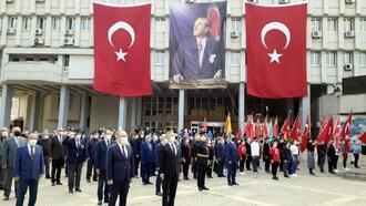 Zonguldak'ta 29 Ekim kutlamaları