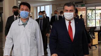 Bakan Koca, Şişli Etfal Hastanesi'ni ziyaret etti