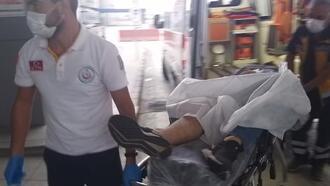 Samsun'da husumetlisini tabancayla yaraladı