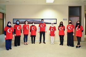 Bursa Büyükşehir Belediyesi, ay yıldıza büründü