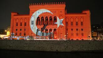 Balkan başkentlerinden 29 Ekim kutlaması