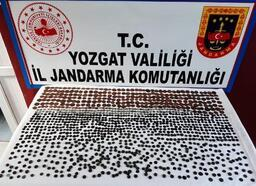 Yozgat'ta bin 300 tarihi sikke ele geçirildi