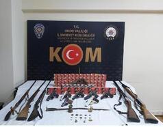 Ordu'da silah kaçakçılığı ve tarihi eser operasyonu