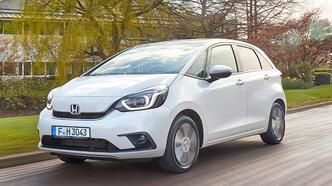 Honda Jazz e: HEV'e Euro NCAP'ten 5 yıldız
