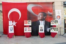 Çankırı'da 'Şehit Öğretmenler' fotoğraf sergisi açıldı
