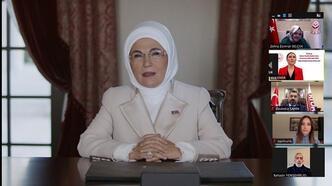 Emine Erdoğan'dan çağrı: Katiller rol model  gibi lanse edilmesin