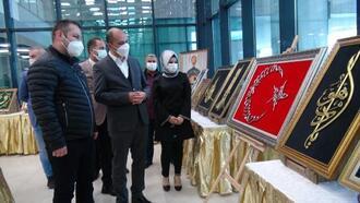 Kilis'te merhum başkan anısına sergi