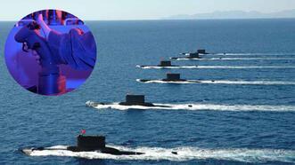 Yeni tip denizaltılar teslim edildi